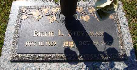 STEELMAN, BILLIE L. - Faulkner County, Arkansas | BILLIE L. STEELMAN - Arkansas Gravestone Photos