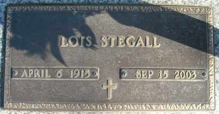 STEGAL, LOIS - Faulkner County, Arkansas | LOIS STEGAL - Arkansas Gravestone Photos