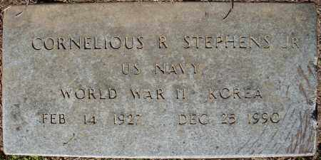 STEPHENS, JR (VETERAN 2 WARS), CORNELIOUS R - Faulkner County, Arkansas | CORNELIOUS R STEPHENS, JR (VETERAN 2 WARS) - Arkansas Gravestone Photos