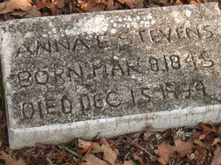 STEVENS, ANNA E. - Faulkner County, Arkansas | ANNA E. STEVENS - Arkansas Gravestone Photos