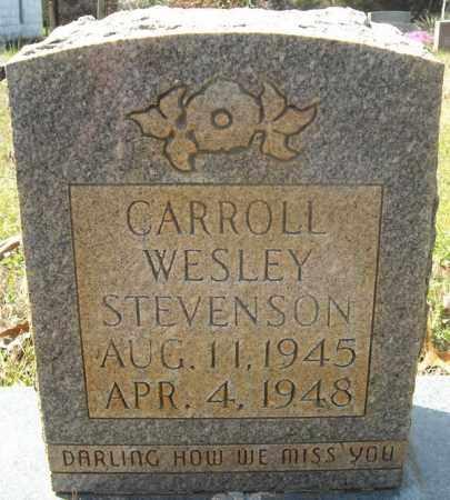 STEVENSON, CARROLL WESLEY - Faulkner County, Arkansas | CARROLL WESLEY STEVENSON - Arkansas Gravestone Photos