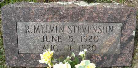 STEVENSON, R. MELVIN - Faulkner County, Arkansas   R. MELVIN STEVENSON - Arkansas Gravestone Photos