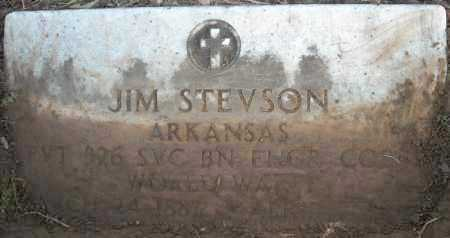 STEVSON (VETERAN WWI), JIM - Faulkner County, Arkansas | JIM STEVSON (VETERAN WWI) - Arkansas Gravestone Photos