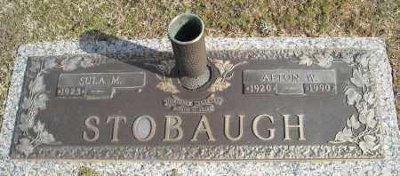 STOBAUGH, AFTON W. - Faulkner County, Arkansas | AFTON W. STOBAUGH - Arkansas Gravestone Photos