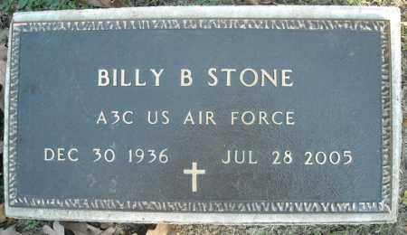 STONE  (VETERAN), BILLY B. - Faulkner County, Arkansas | BILLY B. STONE  (VETERAN) - Arkansas Gravestone Photos