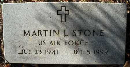 STONE  (VETERAN), MARTIN L. - Faulkner County, Arkansas | MARTIN L. STONE  (VETERAN) - Arkansas Gravestone Photos
