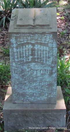 STONE, C.M. - Faulkner County, Arkansas   C.M. STONE - Arkansas Gravestone Photos