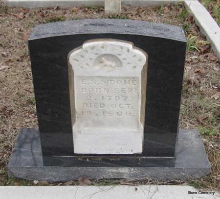 STONE, ESLEY S. - Faulkner County, Arkansas | ESLEY S. STONE - Arkansas Gravestone Photos