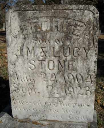STONE, GEORGE (#1) - Faulkner County, Arkansas | GEORGE (#1) STONE - Arkansas Gravestone Photos