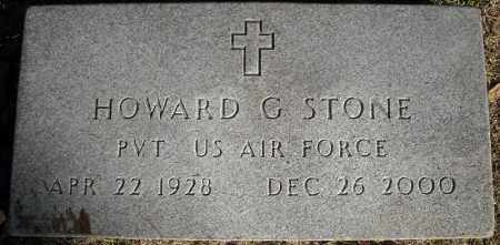 STONE  (VETERAN), HOWARD G - Faulkner County, Arkansas | HOWARD G STONE  (VETERAN) - Arkansas Gravestone Photos