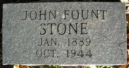STONE, JOHN FOUNT - Faulkner County, Arkansas | JOHN FOUNT STONE - Arkansas Gravestone Photos