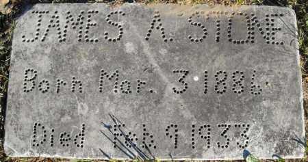 STONE, JAMES A. - Faulkner County, Arkansas | JAMES A. STONE - Arkansas Gravestone Photos