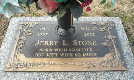 STONE, JERRY L. - Faulkner County, Arkansas | JERRY L. STONE - Arkansas Gravestone Photos