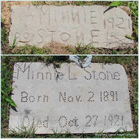 STONE, MINNIE L. - Faulkner County, Arkansas | MINNIE L. STONE - Arkansas Gravestone Photos