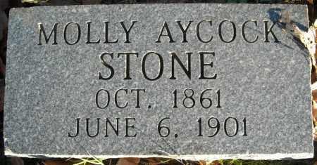 AYCOCK STONE, MOLLY - Faulkner County, Arkansas | MOLLY AYCOCK STONE - Arkansas Gravestone Photos