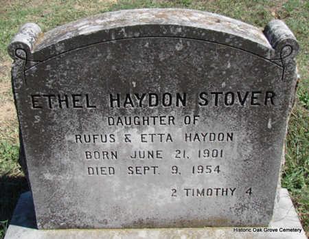 STOVER, ETHEL HAYDON - Faulkner County, Arkansas | ETHEL HAYDON STOVER - Arkansas Gravestone Photos