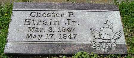 STRAIN, JR., CHESTER P. - Faulkner County, Arkansas   CHESTER P. STRAIN, JR. - Arkansas Gravestone Photos