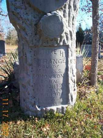 EDMONSON STRANGE, BETTIE - Faulkner County, Arkansas | BETTIE EDMONSON STRANGE - Arkansas Gravestone Photos