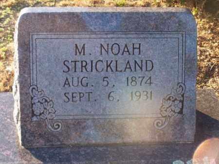 STRICKLAND, M. NOAH - Faulkner County, Arkansas | M. NOAH STRICKLAND - Arkansas Gravestone Photos