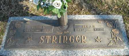 STRINGER, REV., J.M. - Faulkner County, Arkansas | J.M. STRINGER, REV. - Arkansas Gravestone Photos