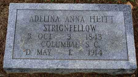 STRINGFELLOW, ADELINA ANNA - Faulkner County, Arkansas | ADELINA ANNA STRINGFELLOW - Arkansas Gravestone Photos