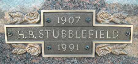 STUBBLEFIELD, H.B. - Faulkner County, Arkansas | H.B. STUBBLEFIELD - Arkansas Gravestone Photos