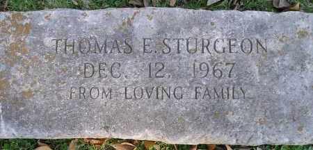 STURGEON, THOMAS E. - Faulkner County, Arkansas | THOMAS E. STURGEON - Arkansas Gravestone Photos