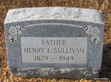 SULLIVAN, HENRY E - Faulkner County, Arkansas | HENRY E SULLIVAN - Arkansas Gravestone Photos