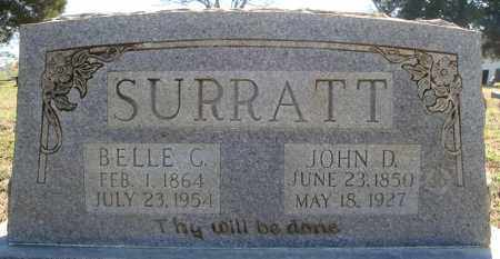 SURRATT, BELLE C. - Faulkner County, Arkansas | BELLE C. SURRATT - Arkansas Gravestone Photos