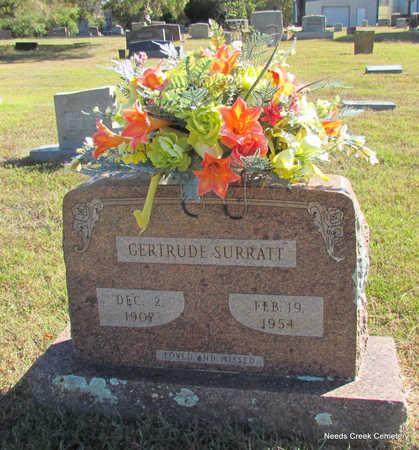 SURRATT, GERTRUDE - Faulkner County, Arkansas | GERTRUDE SURRATT - Arkansas Gravestone Photos