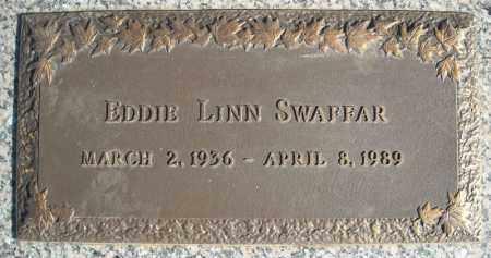 SWAFFAR, EDDIE LINN - Faulkner County, Arkansas   EDDIE LINN SWAFFAR - Arkansas Gravestone Photos