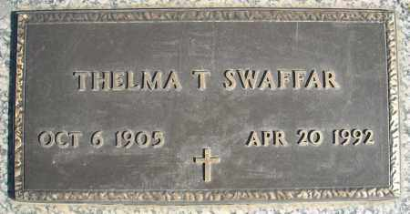 SWAFFAR, THELMA T. - Faulkner County, Arkansas   THELMA T. SWAFFAR - Arkansas Gravestone Photos