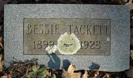 TACKETT, BESSIE - Faulkner County, Arkansas   BESSIE TACKETT - Arkansas Gravestone Photos