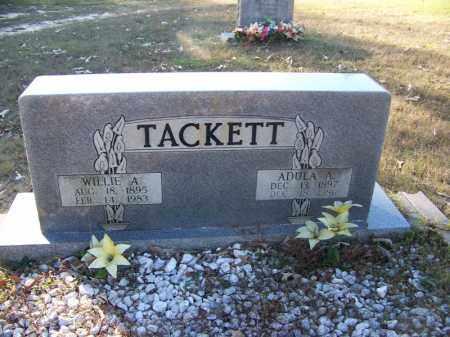 TACKETT, ADULA A. - Faulkner County, Arkansas | ADULA A. TACKETT - Arkansas Gravestone Photos