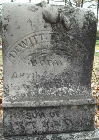 TALMAGES, DEWITT - Faulkner County, Arkansas | DEWITT TALMAGES - Arkansas Gravestone Photos