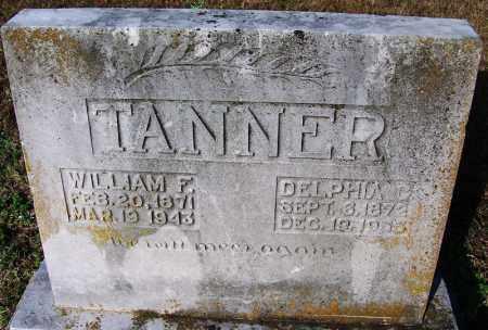 TANNER, DELPHIA C. - Faulkner County, Arkansas | DELPHIA C. TANNER - Arkansas Gravestone Photos