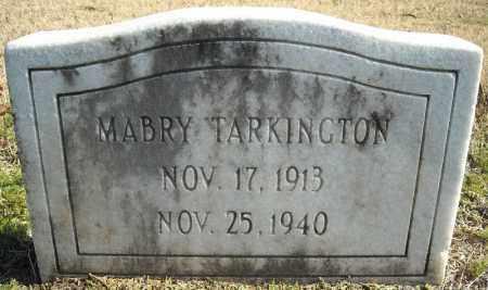 TARKINGTON, MABRY - Faulkner County, Arkansas | MABRY TARKINGTON - Arkansas Gravestone Photos