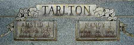 TARLTON, NANCY JANE - Faulkner County, Arkansas | NANCY JANE TARLTON - Arkansas Gravestone Photos