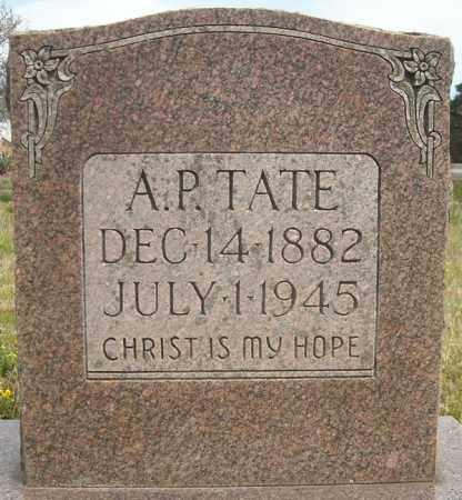 TATE, ARCH PAISLEY A P - Faulkner County, Arkansas | ARCH PAISLEY A P TATE - Arkansas Gravestone Photos