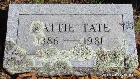 TATE, MATTIE - Faulkner County, Arkansas | MATTIE TATE - Arkansas Gravestone Photos