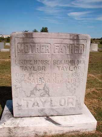 HOUSE TAYLOR, BIRDIE - Faulkner County, Arkansas | BIRDIE HOUSE TAYLOR - Arkansas Gravestone Photos