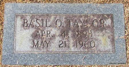 TAYLOR, BASIL O. (CLOSE UP) - Faulkner County, Arkansas   BASIL O. (CLOSE UP) TAYLOR - Arkansas Gravestone Photos