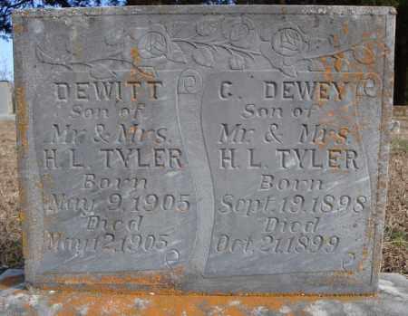 TAYLOR, C. DEWEY - Faulkner County, Arkansas | C. DEWEY TAYLOR - Arkansas Gravestone Photos