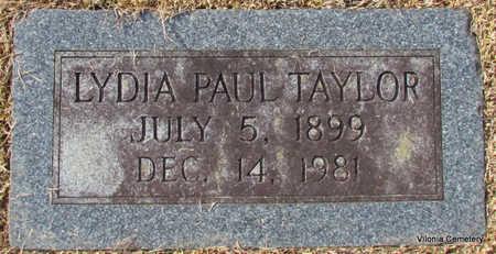 TAYLOR, LYDIA (CLOSE UP) - Faulkner County, Arkansas | LYDIA (CLOSE UP) TAYLOR - Arkansas Gravestone Photos