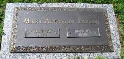 TAYLOR, MARY - Faulkner County, Arkansas | MARY TAYLOR - Arkansas Gravestone Photos