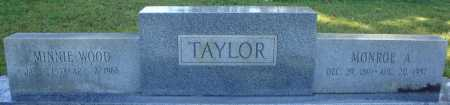 TAYLOR, MONROE A. - Faulkner County, Arkansas | MONROE A. TAYLOR - Arkansas Gravestone Photos