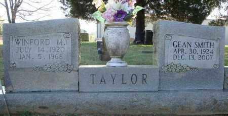 TAYLOR, WINFORD M. - Faulkner County, Arkansas | WINFORD M. TAYLOR - Arkansas Gravestone Photos