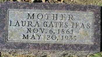 TEAS, LAURA GATES - Faulkner County, Arkansas | LAURA GATES TEAS - Arkansas Gravestone Photos