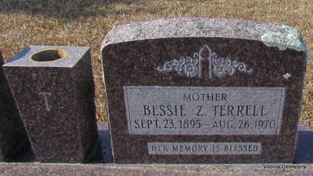 TERRELL, BESSIE Z (CLOSE UP) - Faulkner County, Arkansas | BESSIE Z (CLOSE UP) TERRELL - Arkansas Gravestone Photos