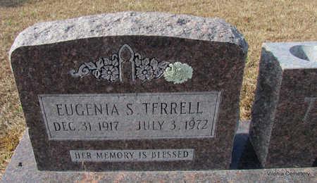 TERRELL, EUGENIA S (CLOSE UP) - Faulkner County, Arkansas   EUGENIA S (CLOSE UP) TERRELL - Arkansas Gravestone Photos